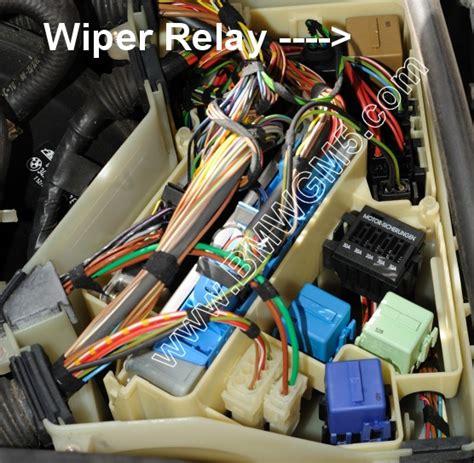 bmw   starter relay location