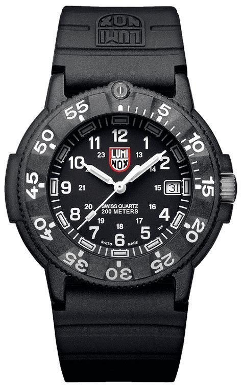 Luminox Original Navy Seal Black Mens Watch  3001