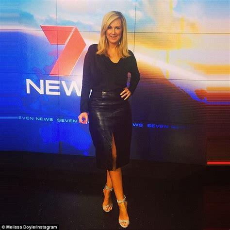 ÿþmaria doyle kennedy swimsuit melissa doyle flaunts slim legs in sleek black leather