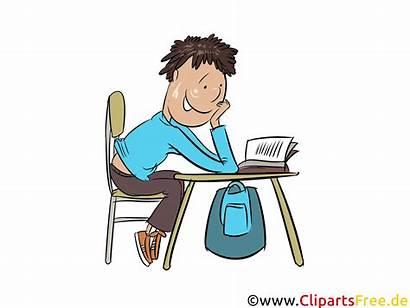 Hausaufgaben Machen Clipart Bild Grafik Devoirs Schule