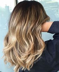 Brown Hair with Blonde Balayage