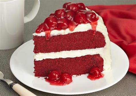cheerful cherry red velvet cake pictures