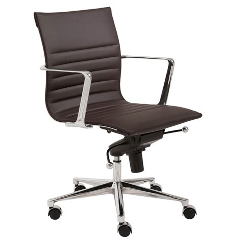 low back desk chair atticus contemporary low back office chair zuri furniture