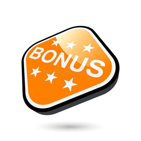 Bonus Button Stock Image - Image: 14144251