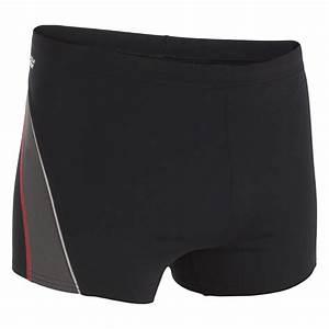 Boxer De Bain Homme : maillot de bain homme boxer b fit noir gris nabaiji ~ Melissatoandfro.com Idées de Décoration