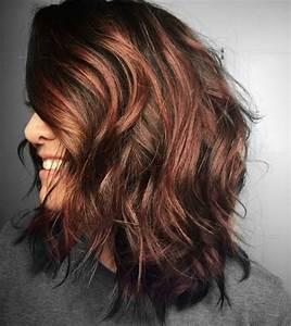 Hellbraune Haare Mit Blonden Strähnen : verschiedene haarfarben mit rote str hnchen ~ Frokenaadalensverden.com Haus und Dekorationen