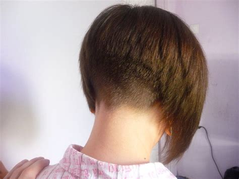 Bob Haircuts Shaved In Back