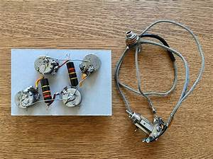 Vintage 1959 Gibson Les Paul Wiring Harness