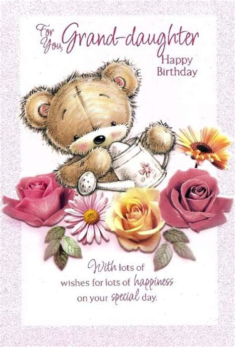 happy birthday granddaughter clipart   cliparts