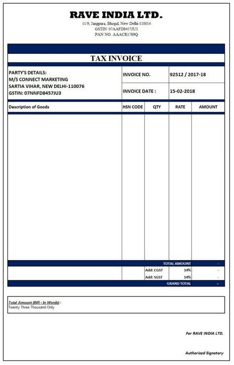 invoice format ideas  pinterest invoice