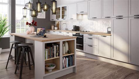 Dunham Kitchen in Dove Grey   Magnet Kitchens