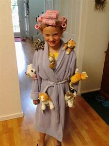 16 best images about Crazy cat lady costume ideas on Pinterest