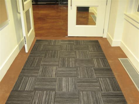 recessed recycled rubber tire tiles  recessed mats