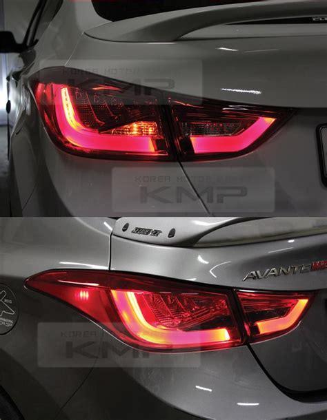 surface emission rear trunk light l 4pcs for