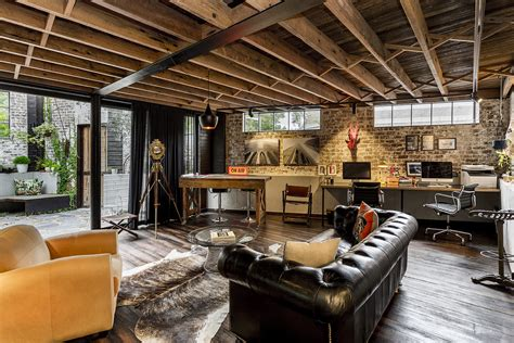 Industrial Home Style : Inspirational Industrial Home Office Designs That Will
