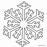 Snowflake Snowflakes Coloring Printable Pages Cool2bkids Colouring Easy Sheets Patterns Christmas Weather Visit Colors sketch template