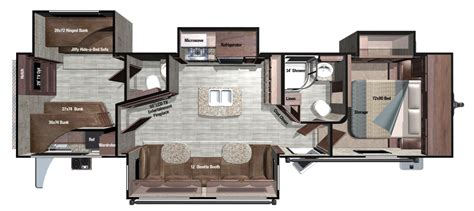 open range rv floor plans 2017 open range roamer 328bhs bunkhouse travel trailer at all