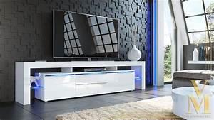 Tv Schrank Weiß : tv board lowboard kommode schrank rack tisch lima nova in wei hochglanz ebay ~ Indierocktalk.com Haus und Dekorationen