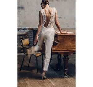 what to wear for a civil wedding white jumpsuits vogue - Combinaison Pour Mariage