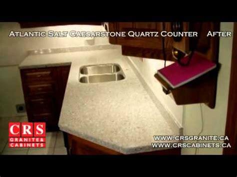 quartz countertops ontario atlantic salt caesarstone quartz countertops by crs