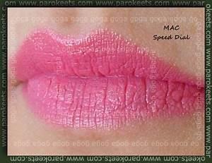 MAC cosmetics swatches
