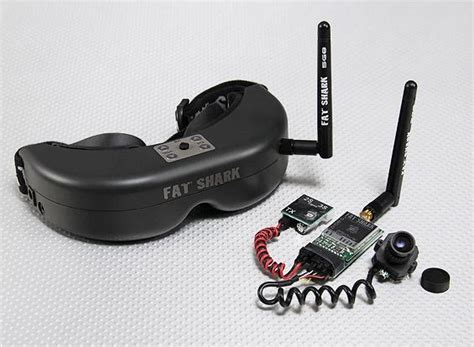 Fat Shark Predatorv2 Rtf Fpv Headset System W/camera And 5