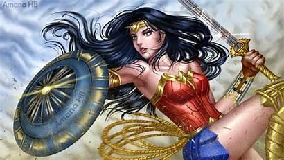 Wonder Woman Wallpapers Anime Amana Deviantart Fan