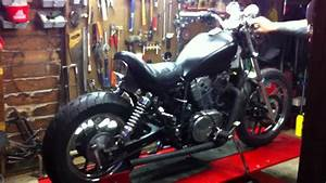 1985 Honda Shadow Vt 700 Bobber Project