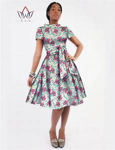 Stylish African Print Dashiki Sashes Dress | African print ...