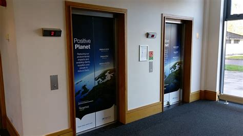 Elevator Door Graphics, Wraps, & Decals