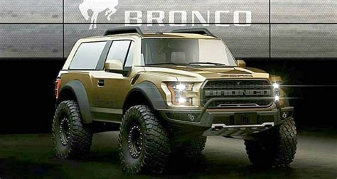 ford bronco ii aka baby bronco redesign release