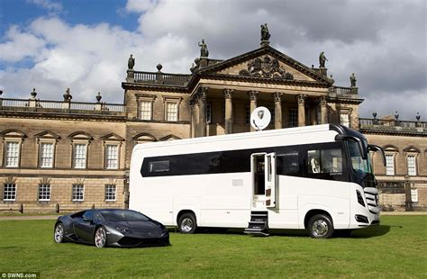 a luxury hotel on four wheels the 380 000 cervan with underfloor heating a shower and