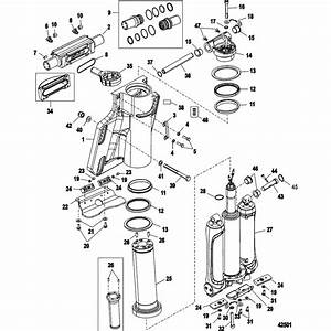 Hardin Marine  Steering Cylinder