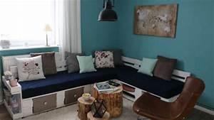 Couch Aus Paletten : sofa aus europaletten mit vielen extras handmade kultur ~ Whattoseeinmadrid.com Haus und Dekorationen