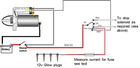 Glow Plug Relay Wiring Diagram