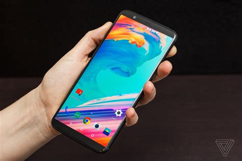oneplus 5t announced bigger screen new and a headphone the verge