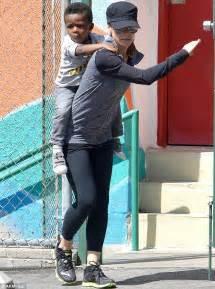 Sandra Bullock's son shows off his bubble blowing skills ...