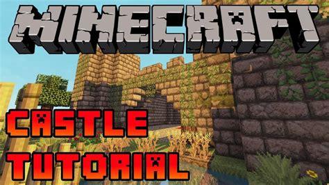 minecraft   build  castle tutorial xboxpspepc step  step youtube