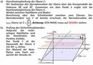Dachfläche Berechnen Online : 2016 analytische geometrie abitur wahlteil allg gymnasium ~ Themetempest.com Abrechnung