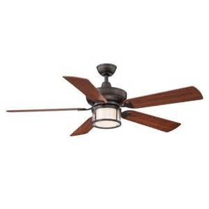 hton bay tipton ii 52 in rubbed bronze ceiling fan ceiling fans light fixture