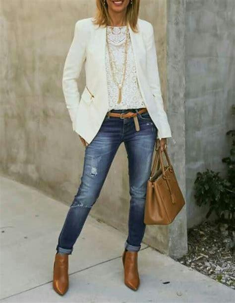 Las 25+ mejores ideas sobre Blazer blanco mujer en Pinterest   Pantalones blancos de mujer ...