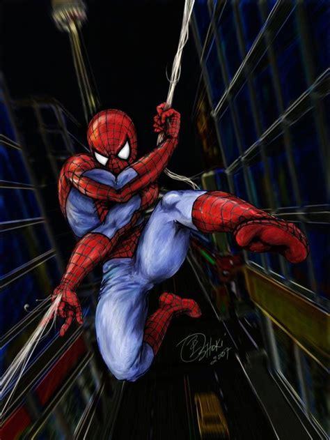 #spiderman #fan #art (spiderman) By Oshouki The