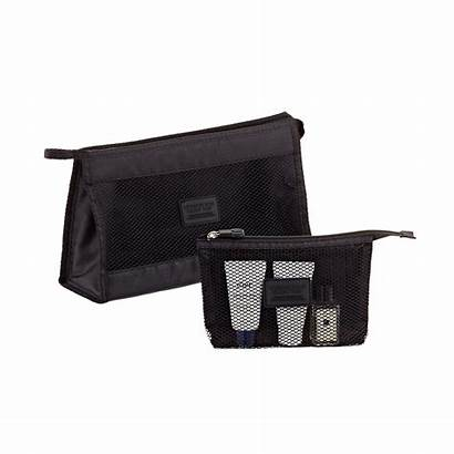 Accessory Pouches Makeup Bags Containerstore Toiletry