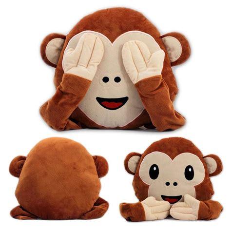 gadget de cuisine coussin singe emoticone emoji à 9 95