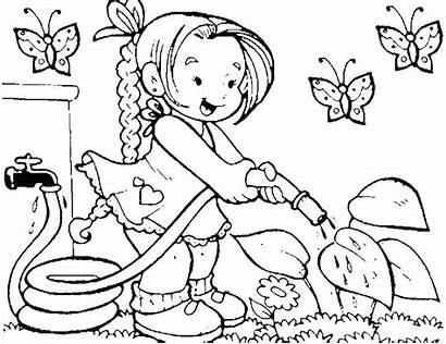 Coloring Pages Tools Kitchen Utensils Preschool Construction