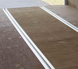 Quickslide for floor triton trailers for Triton flooring