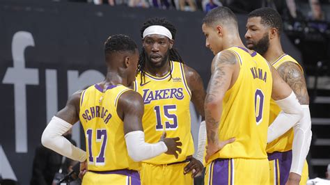 Lakers -- sans LeBron James and Anthony Davis -- stay ...