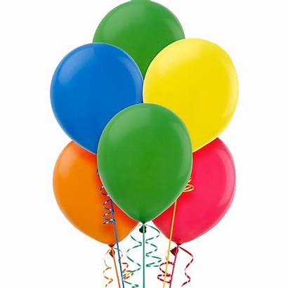Balloons Colour Assorted 15ct Birthday Colors Latex