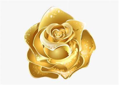 Rose Yellow Clipart Flower Transparent Cartoon Flowers