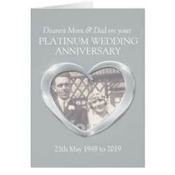 platinum wedding anniversary platinum wedding anniversary gifts t shirts posters other gift ideas zazzle